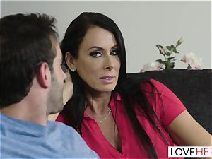 LoveHerFeet - Stepson plumbs His Stepmom On The couch