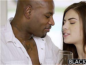 BLACKED first-ever bi-racial For Pretty gf Zoe weenie